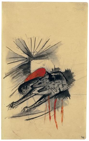 04-marc-liegende-hyaene