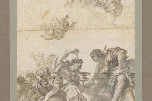 Wolff_Das Mahl der Kleopatra und des Marcus Antonius_um 1680